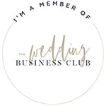 Wedding Business Club Member Badge